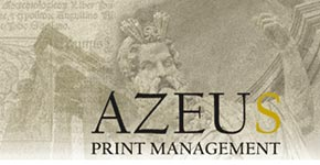 Link to Azeus Print Management website
