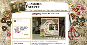 Link to Treasures Forever scrapbooking